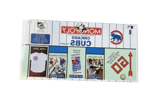 monopoly chicago cub s collector s edition