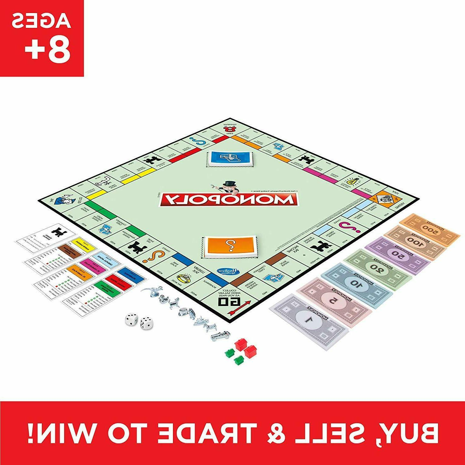 Monopoly Game Original Traditional Play Toys