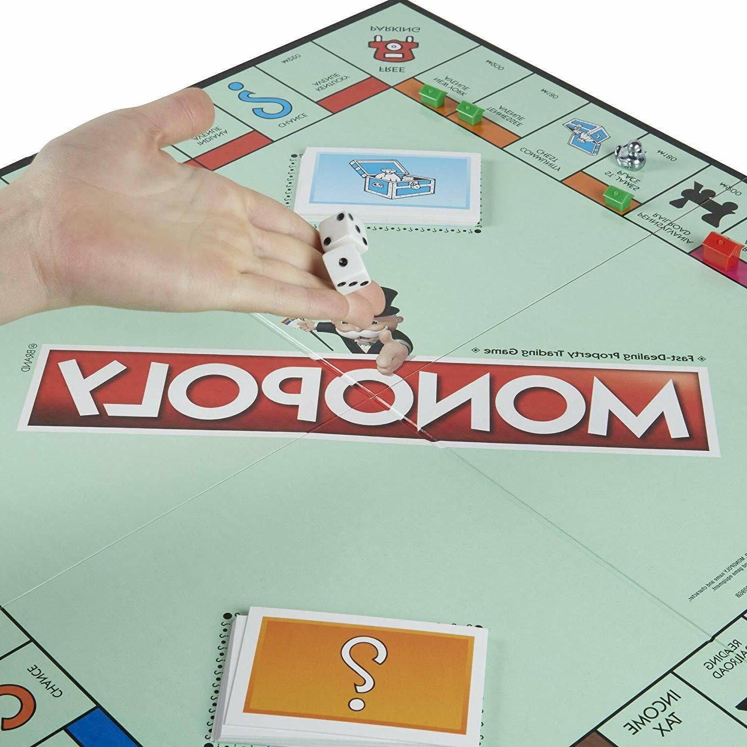 Monopoly Classic Family Game Traditional Play Toys