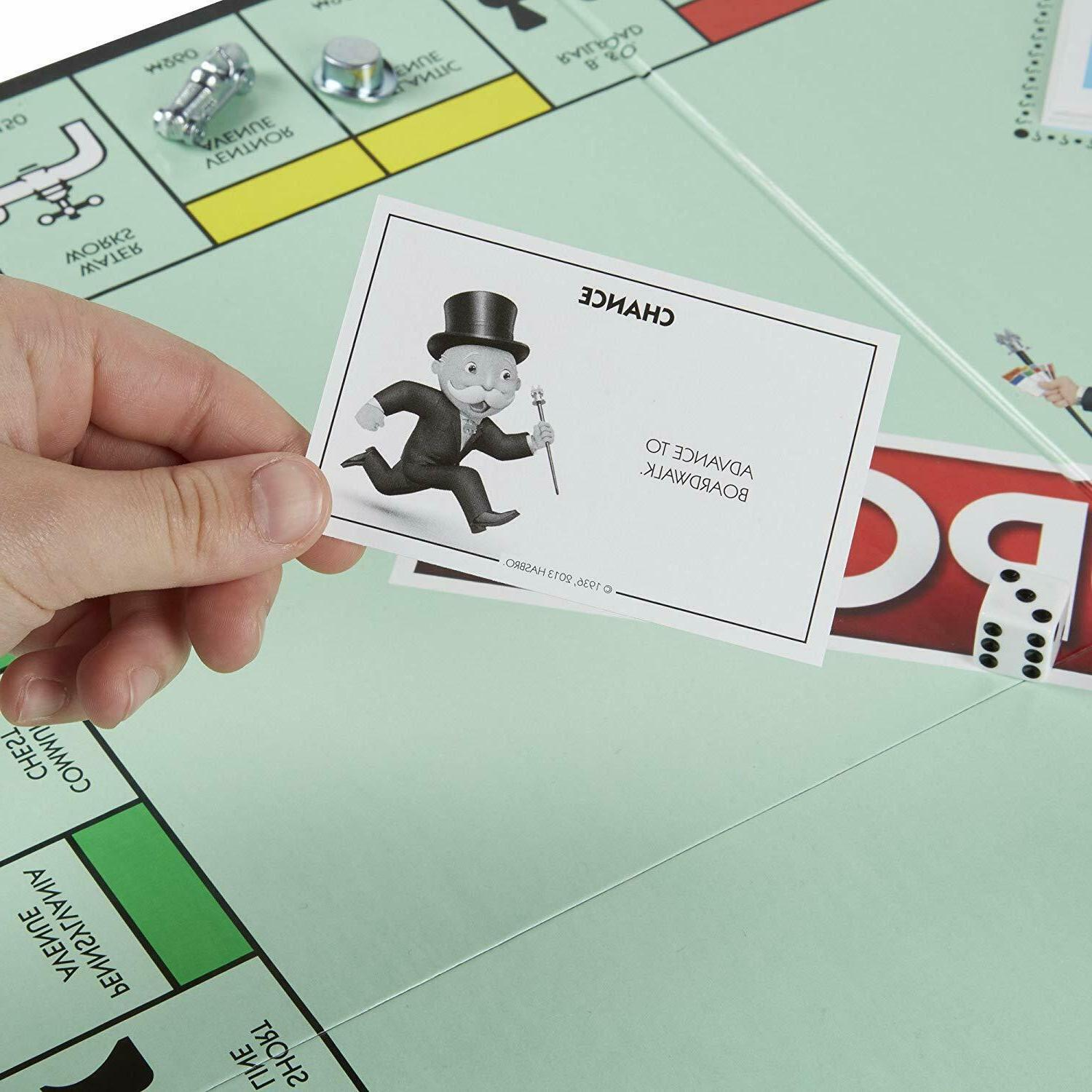 Monopoly Classic Family Game Play Toys