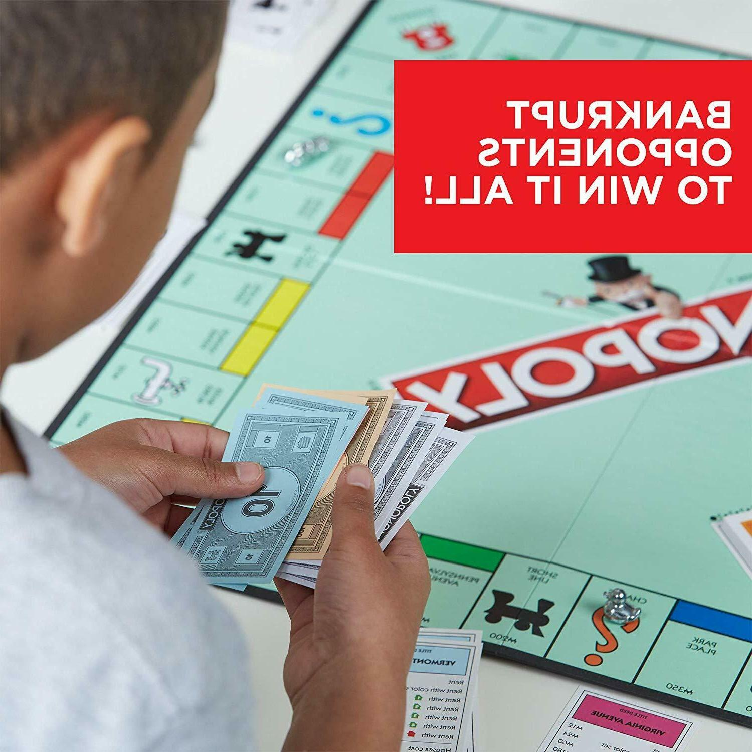 Monopoly Game Traditional Fun Play Toys
