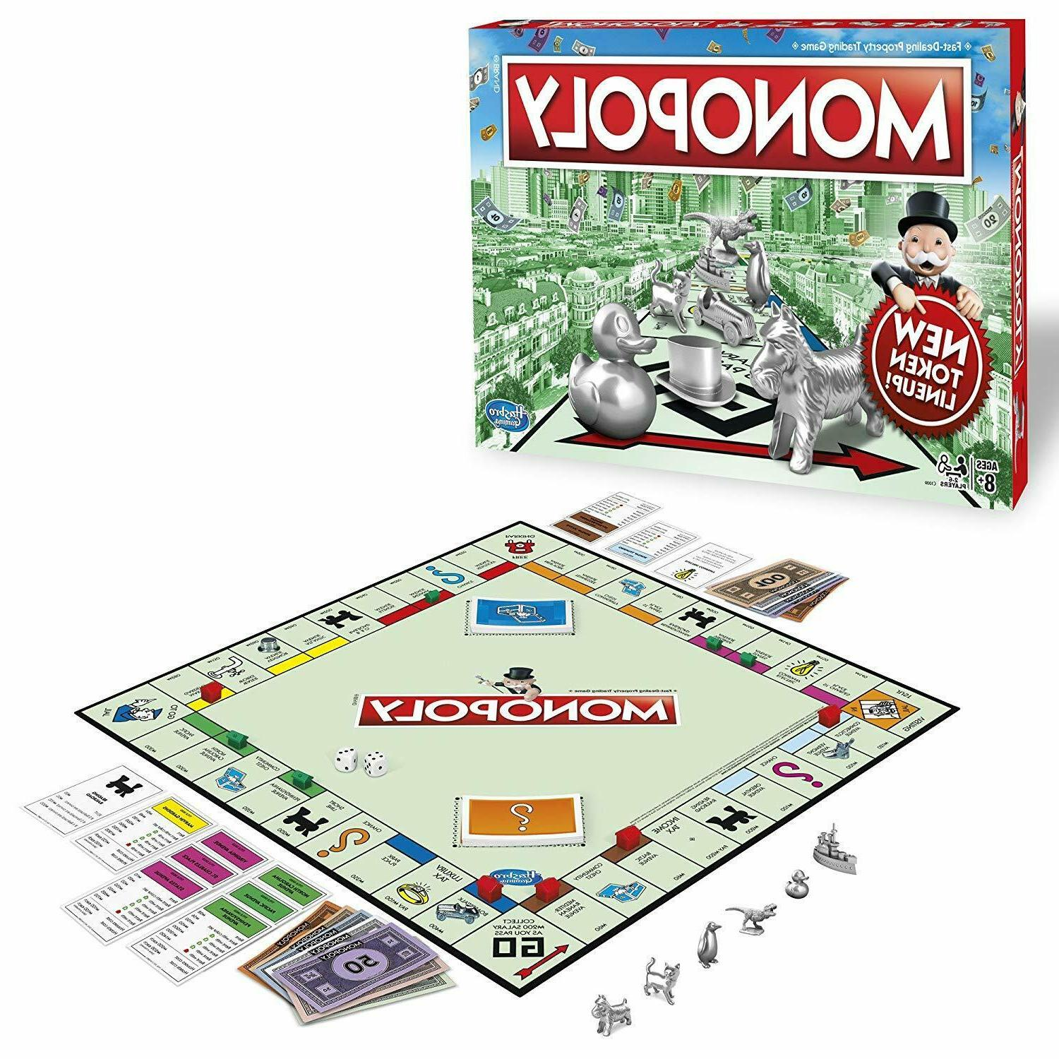 monopoly classic family board game original traditional