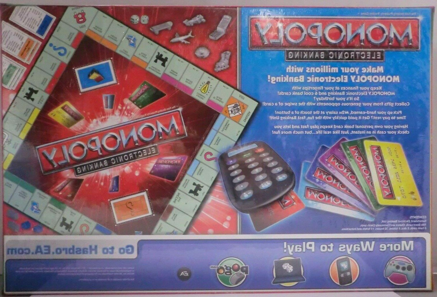 MONOPOLY ELECTRONIC BANKING CREDIT PARKER BROTHERS NEW