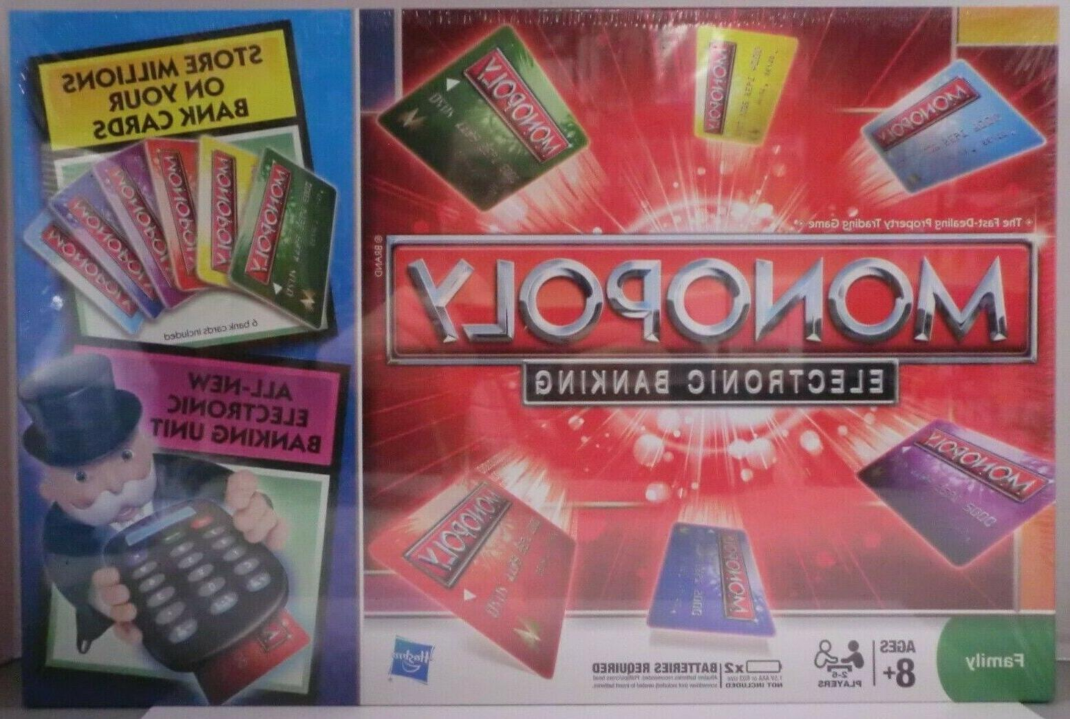 monopoly electronic banking bank credit cards reader