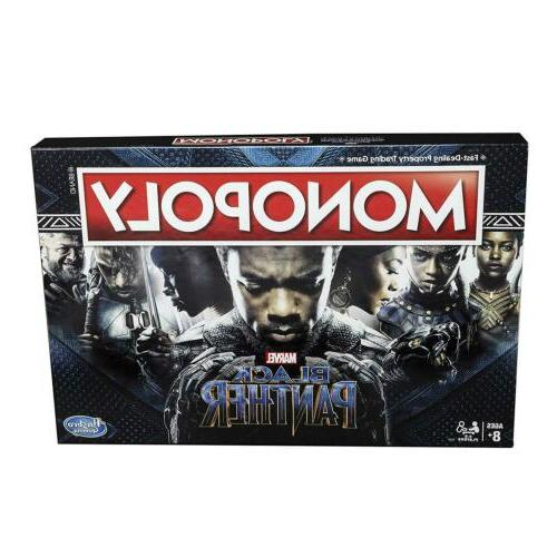 monopoly game black panther marvel edition board