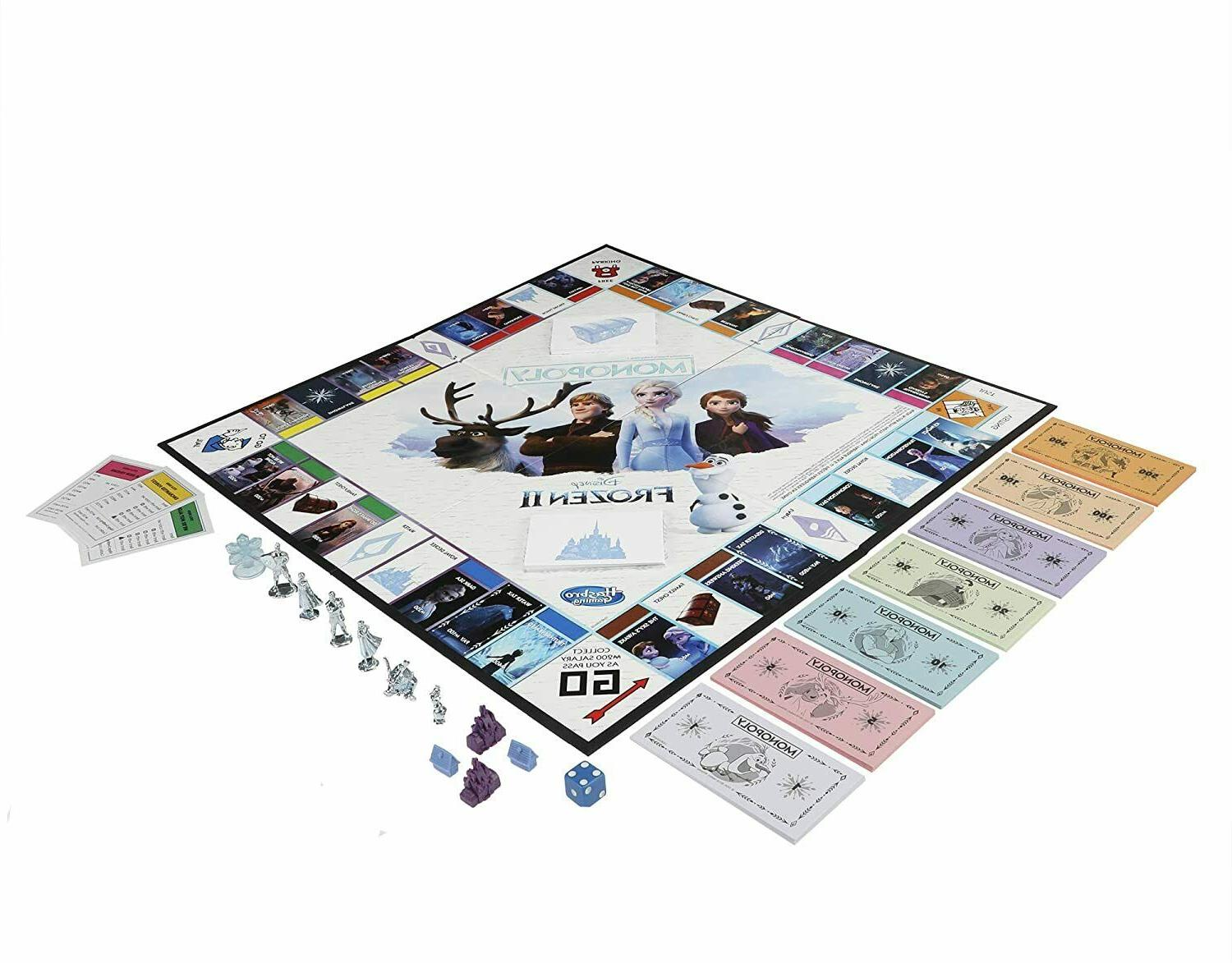 Monopoly Game: 2 Edition for Ages 8 and Up, New
