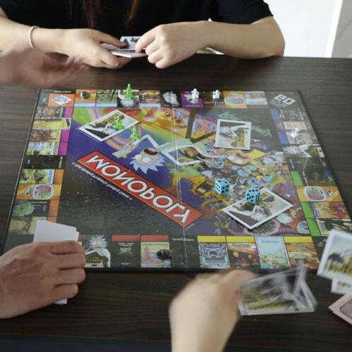 Monopoly: And Morty Board Game New
