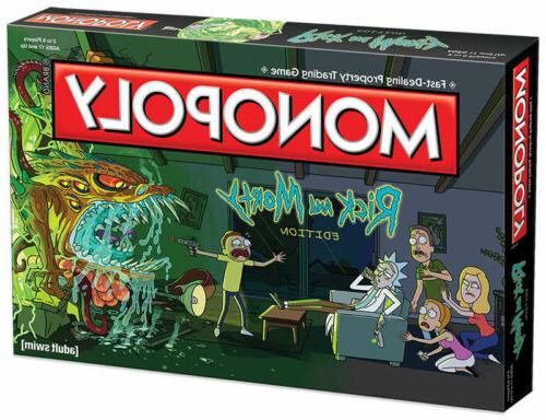 Monopoly: Rick Board Game New
