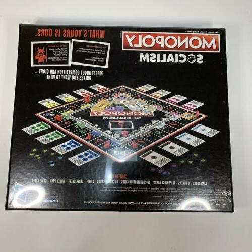 Monopoly Socialism Board Parody Adult Game