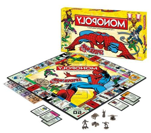 monopoly spider collector