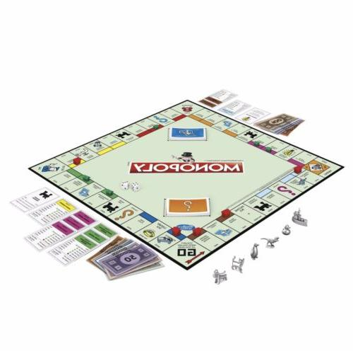 Monopoly The Classic Traditional New Tokens Sealed