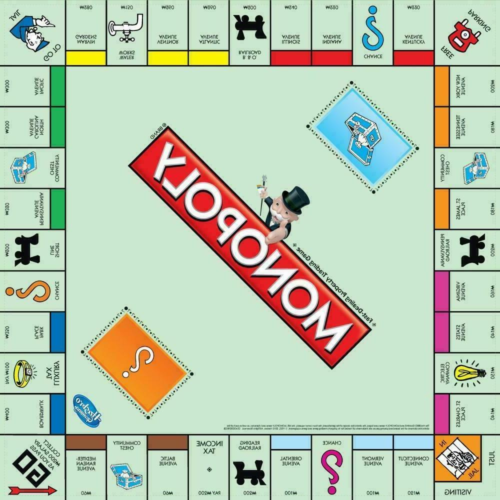 Monopoly Traditional Family Board New