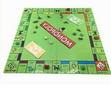 Monopoly Classic Edition Traditional Board