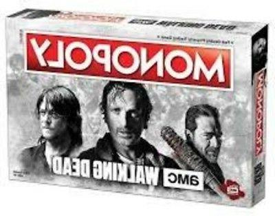 monopoly the walking dead amc board game