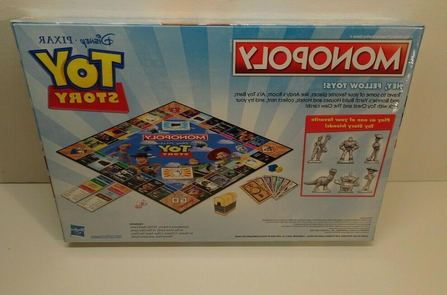 Monopoly: Edition Hasbro Board Disney Pixar Brand New