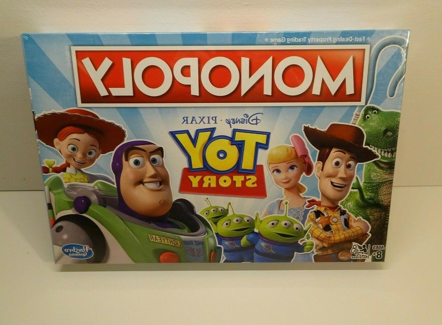 monopoly toy story edition board game disney