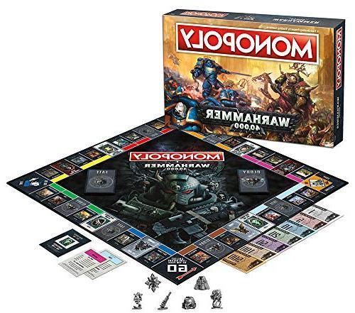 Monopoly Warhammer 40,000 Board Game | on Warhammer Workshop | Warhammer | Themed Classic Game