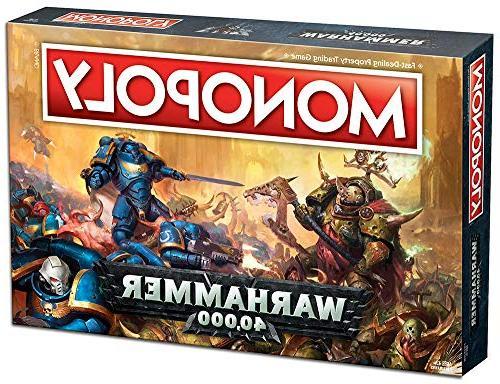 Monopoly Game Based Warhammer 40,000 Games Workshop | Warhammer | Themed Game