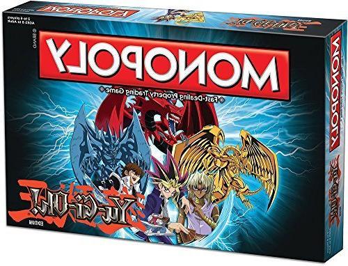 monopoly yu gi oh board
