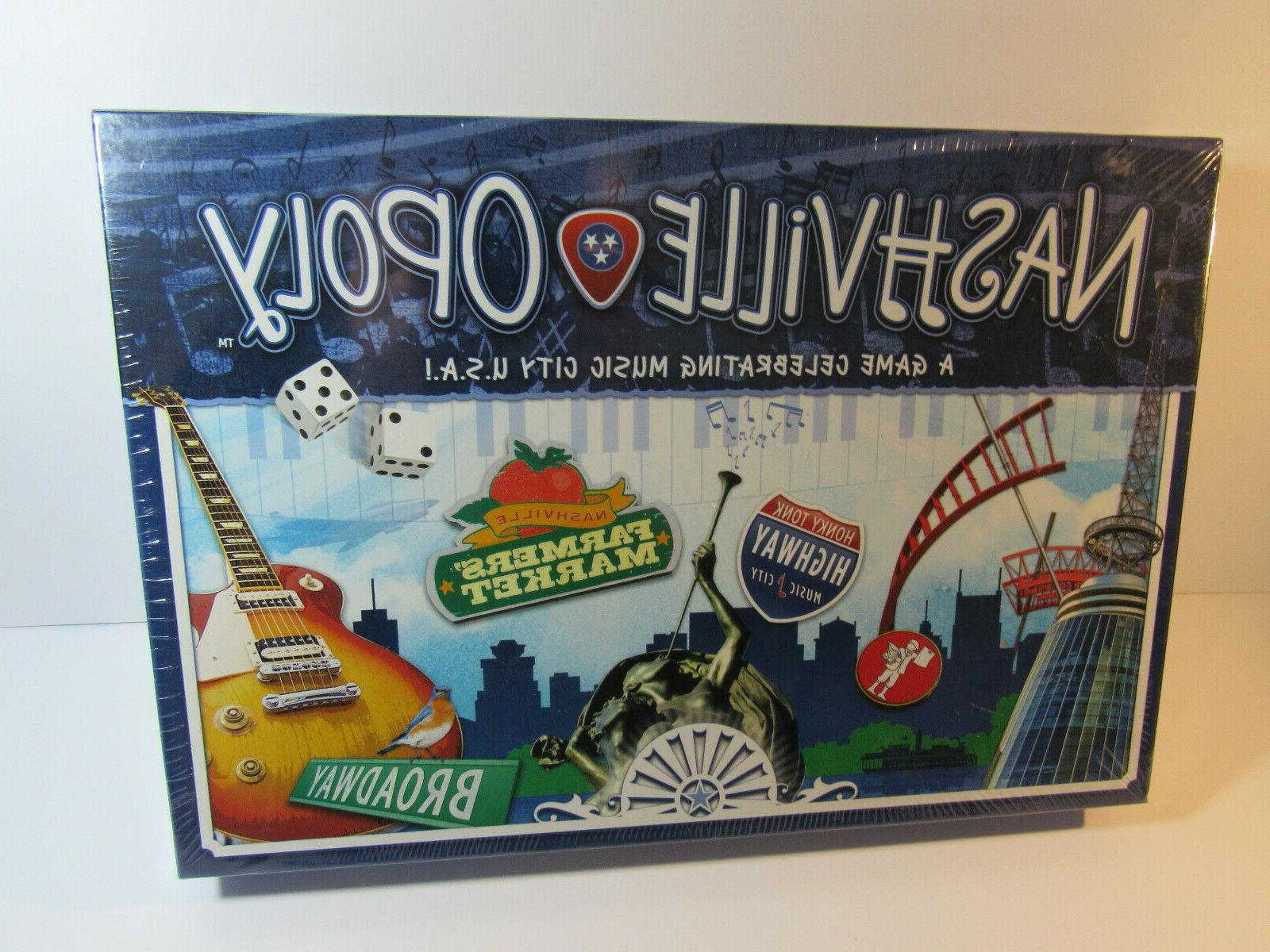 NashvilleOpoly Monopoly Type Board Game by Late for the Sky