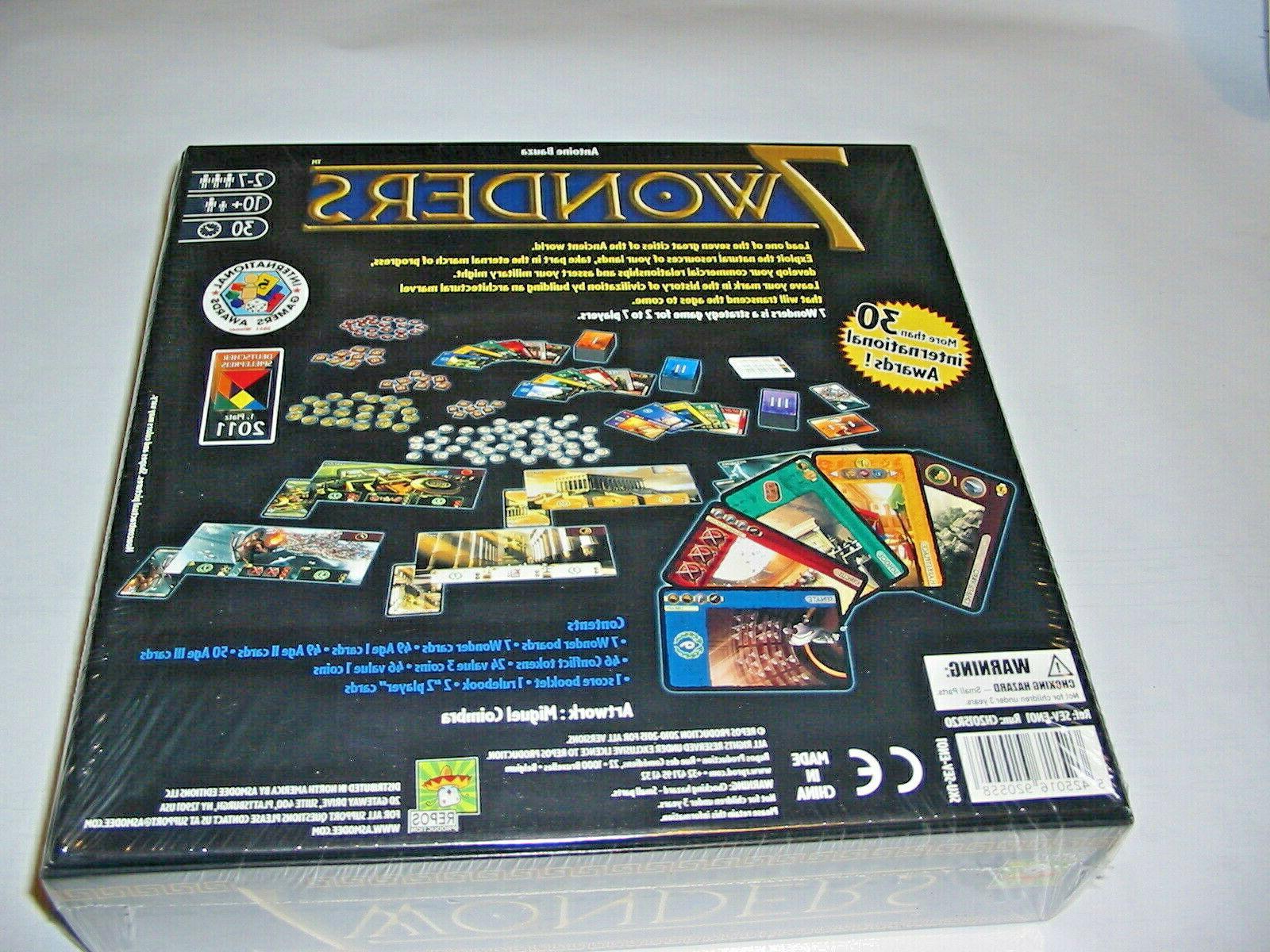 NEW Wonders Board Game Asmodee