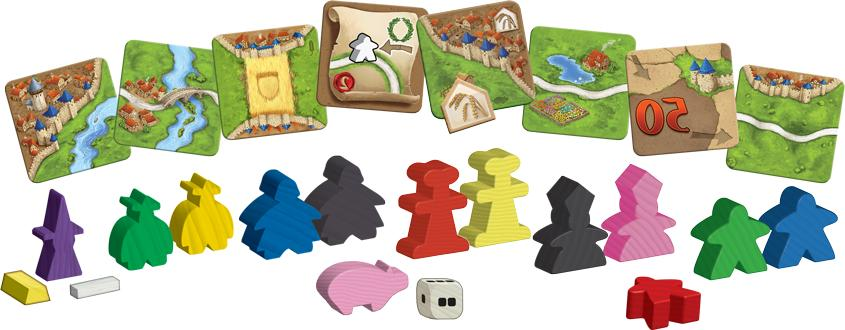 New Carcassonne Board Game Unopened w/ 11 Zman