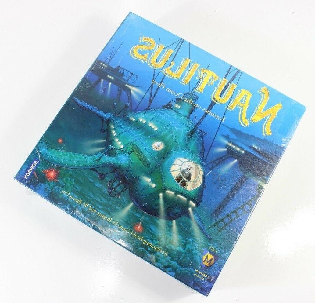 new nautilus fortunes on the ocean floor