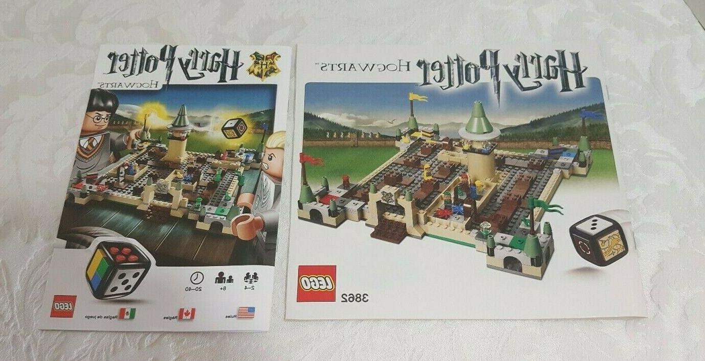 NEW 3862 Potter Castle Game CONTENTS