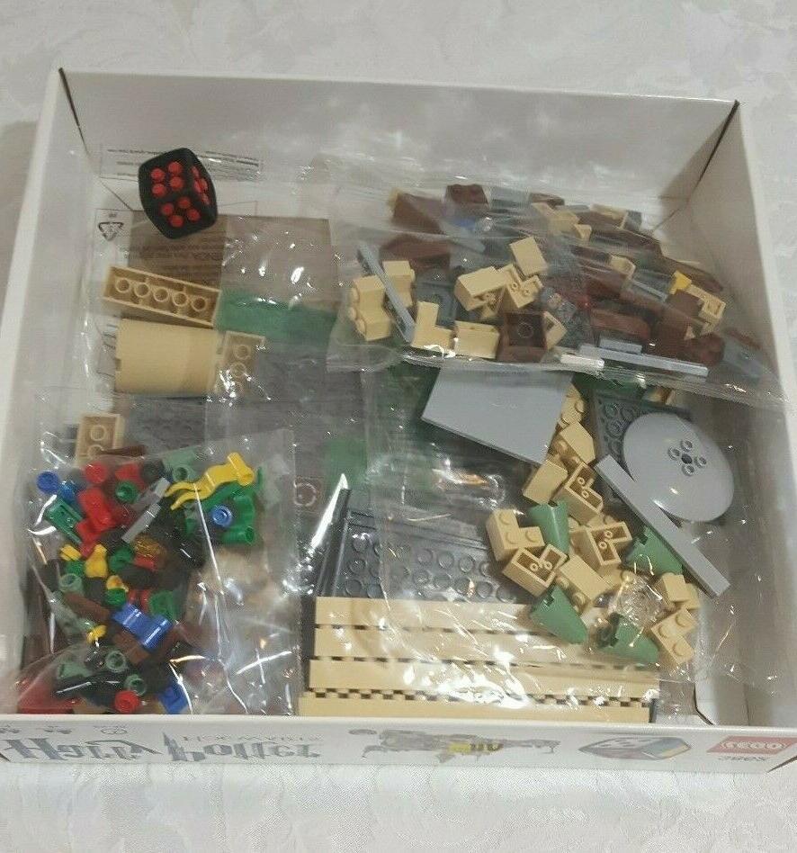 NEW OPEN BOX 3862 Potter Hogwarts Castle Game CONTENTS