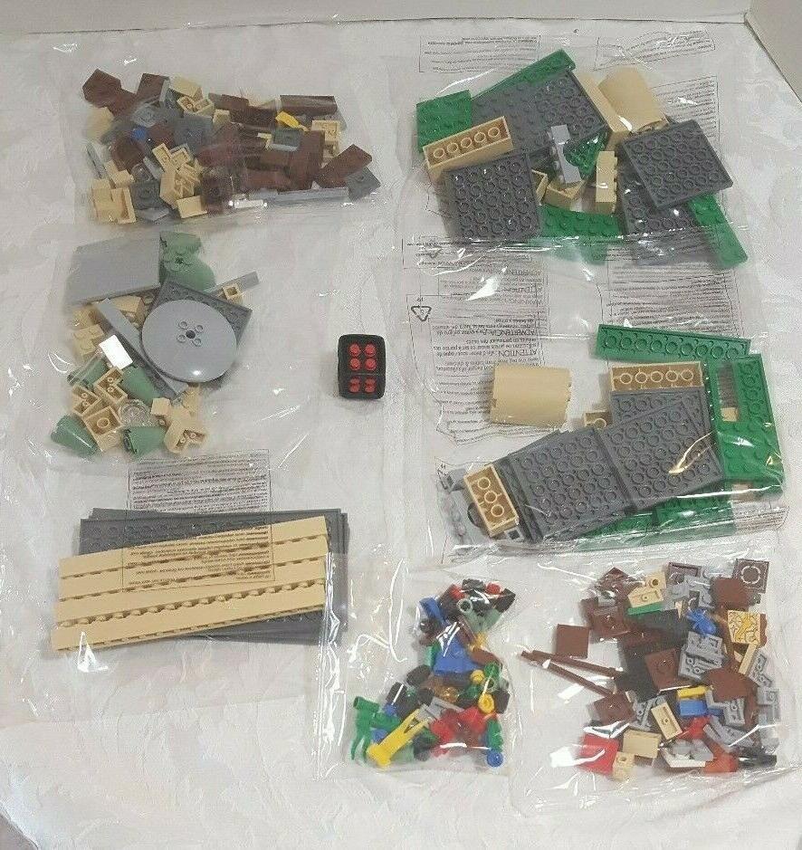 NEW BOX 3862 Harry Potter Castle CONTENTS
