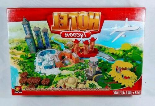 new sealed hotel tycoon board game