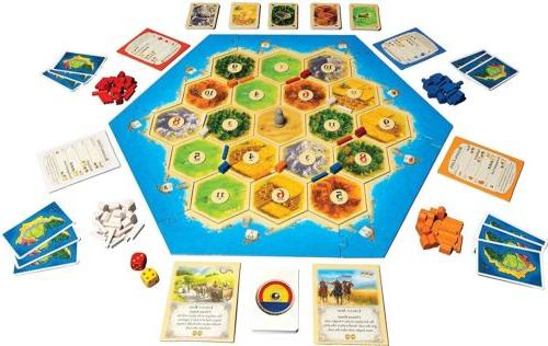 Catan- Free Shipping-Party Game-Gift
