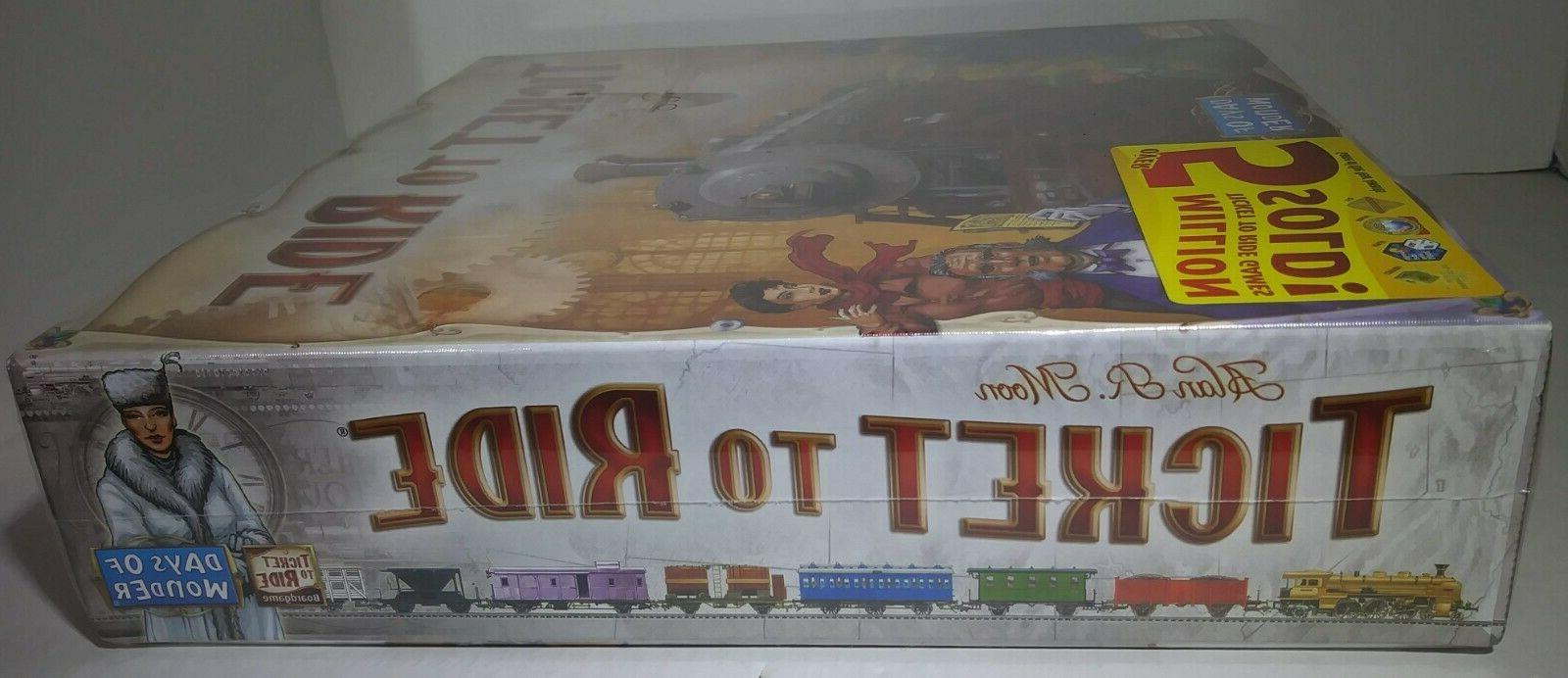 New Ticket to Board Game US Cross-Country Adventure