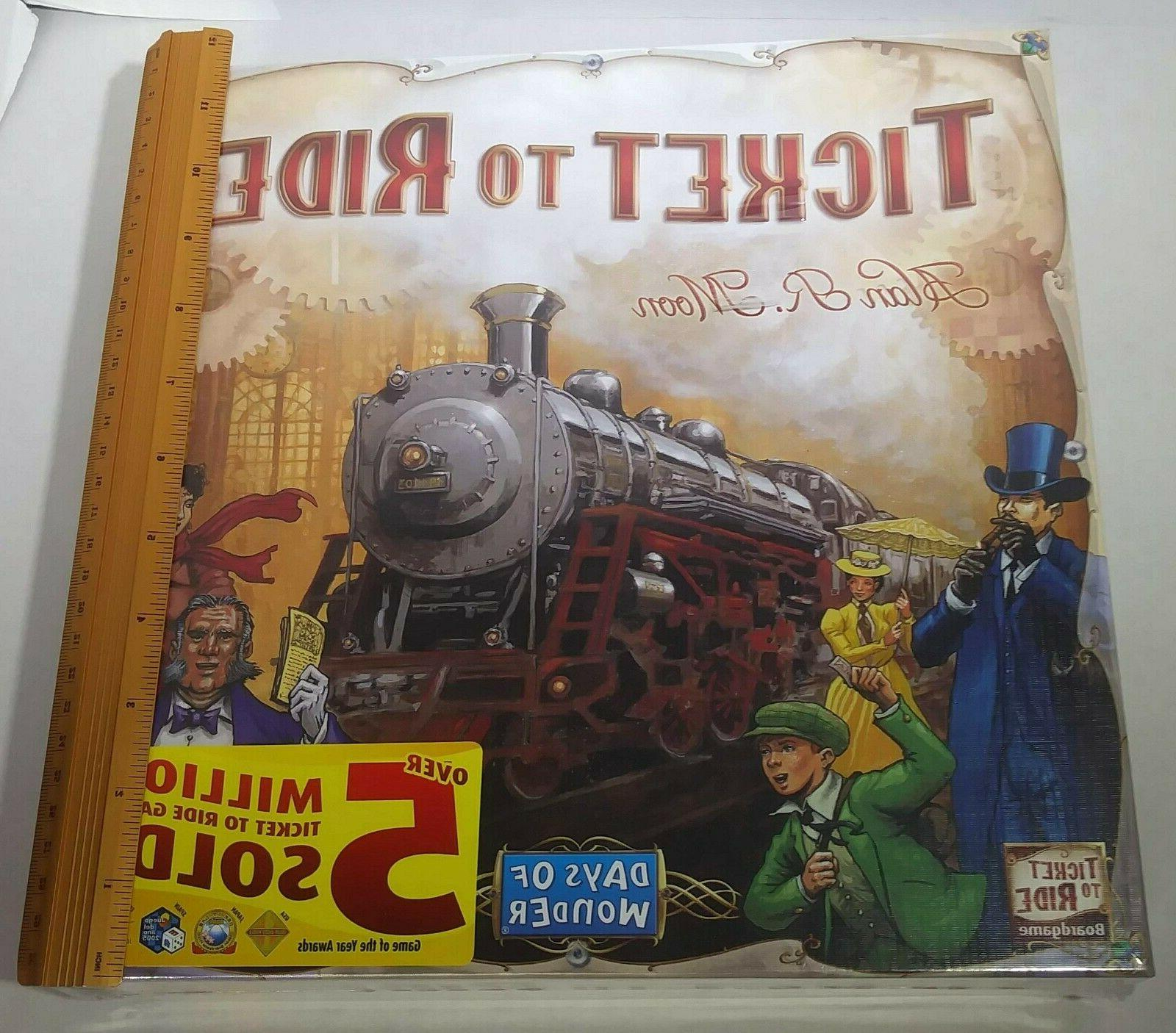New Days Wonder Ticket Game US Adventure