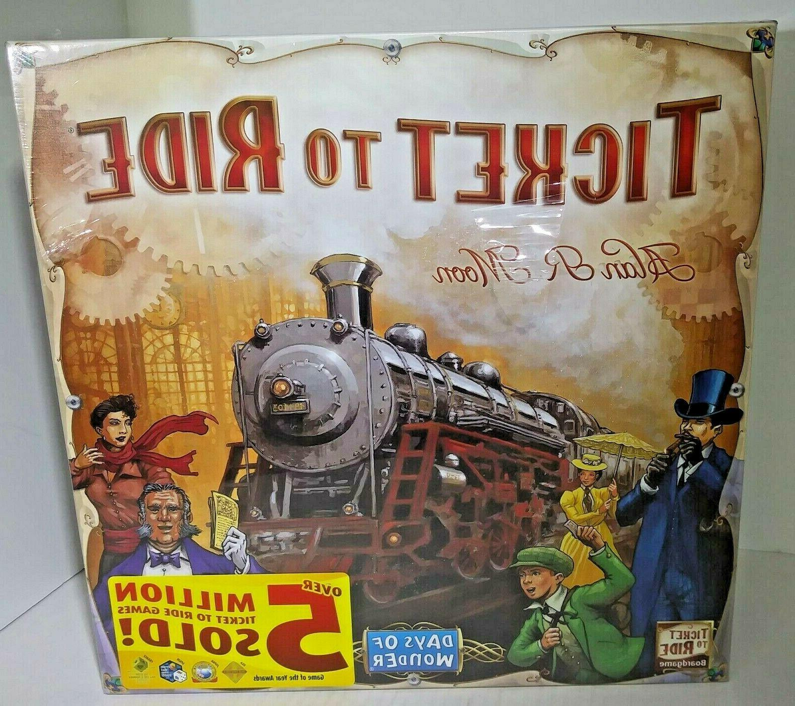 new ticket to ride board game us