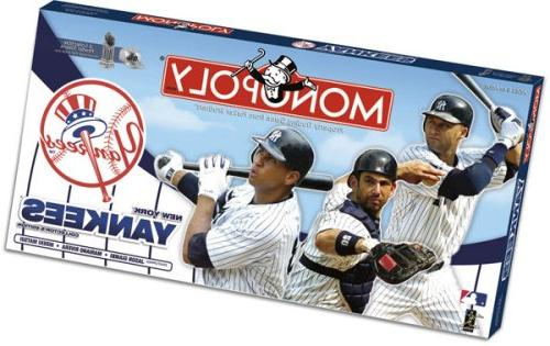 new york yankees collector monopoly