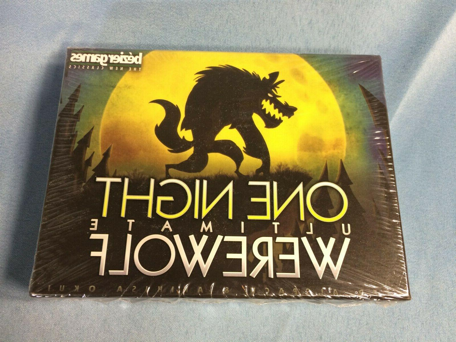 one night ultimate werewolf party board game