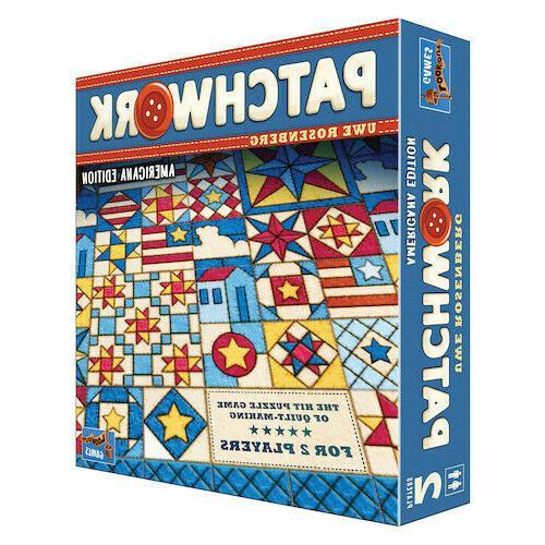 patchwork americana edition board game uwe rosenberg