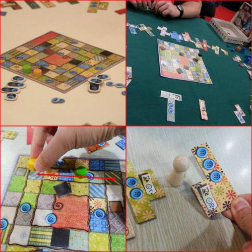 Patchwork Game Two Players Cards Game English USA