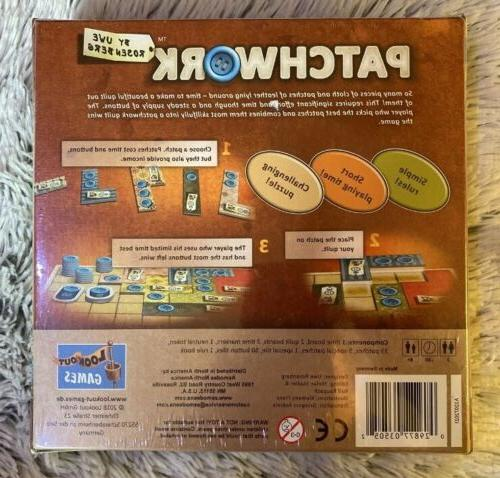Mayfair Games Patchwork Board Game