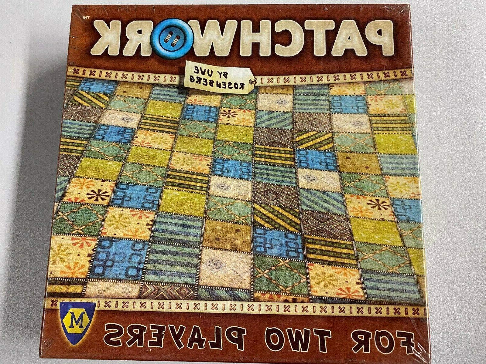 patchwork board game uwe rosenberg