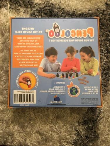 Pengoloo Childrens Game The Pole Eggspedition Blue Way NEW