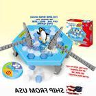 Penguin Trap Board Game Ice Breaking Save Kids Early Educati