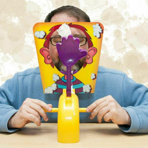 Pie Face Board Game Cream Hit Face Home Party Family Child P
