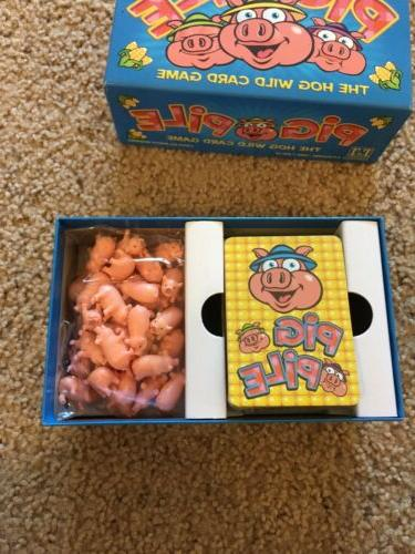 Pig Pile Family Board Game Games Complete -