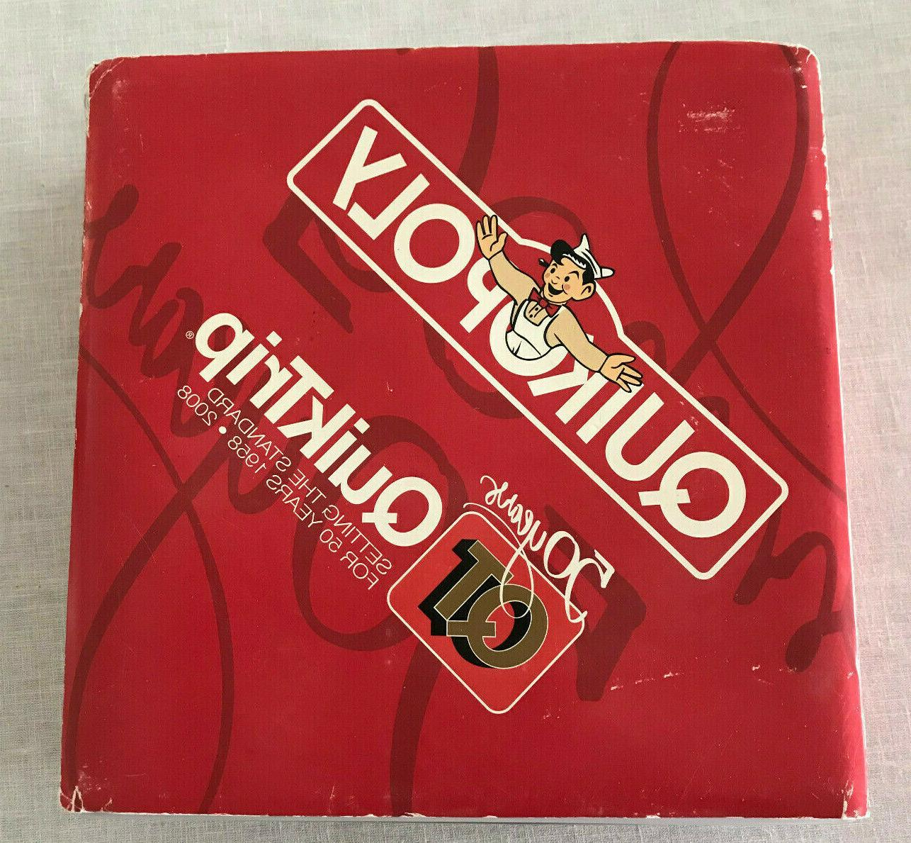 rare 2008 quikopoly 50 years of qt