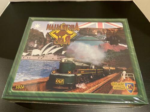 rare australian rails 4502 new sealed empire