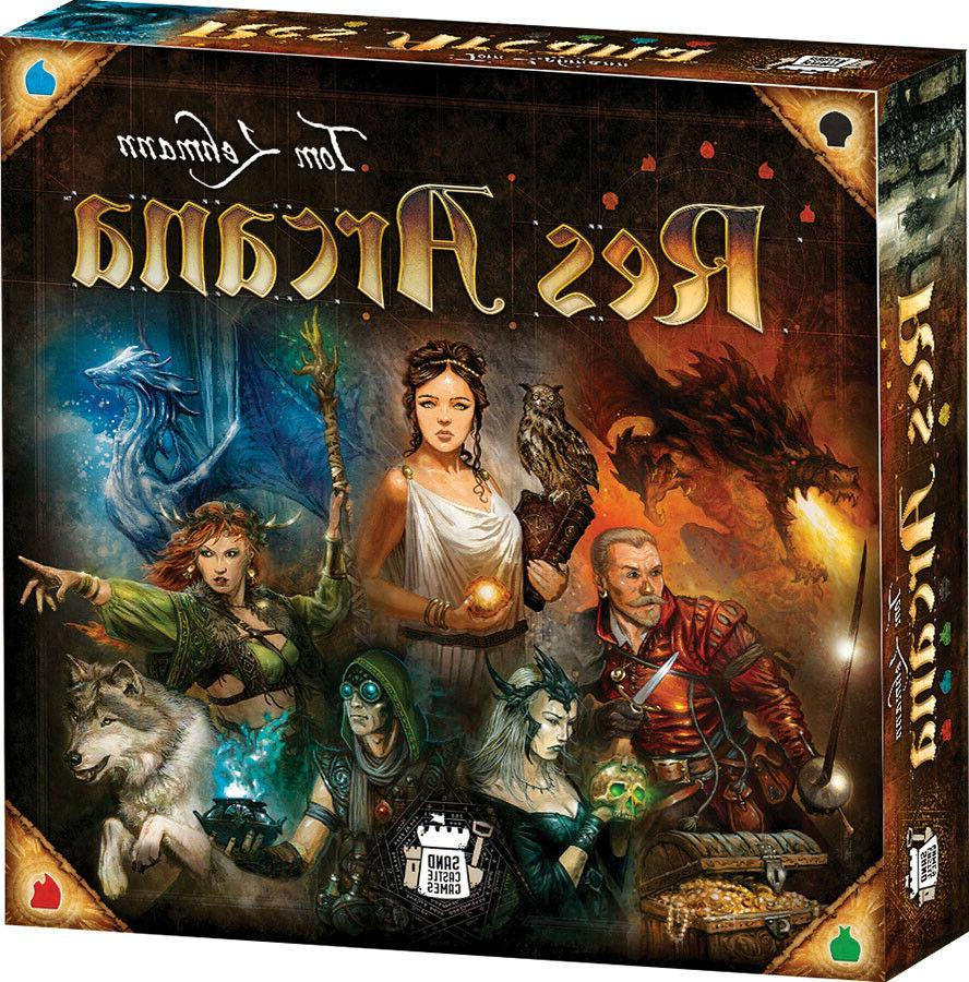 res arcana board game brand new factory