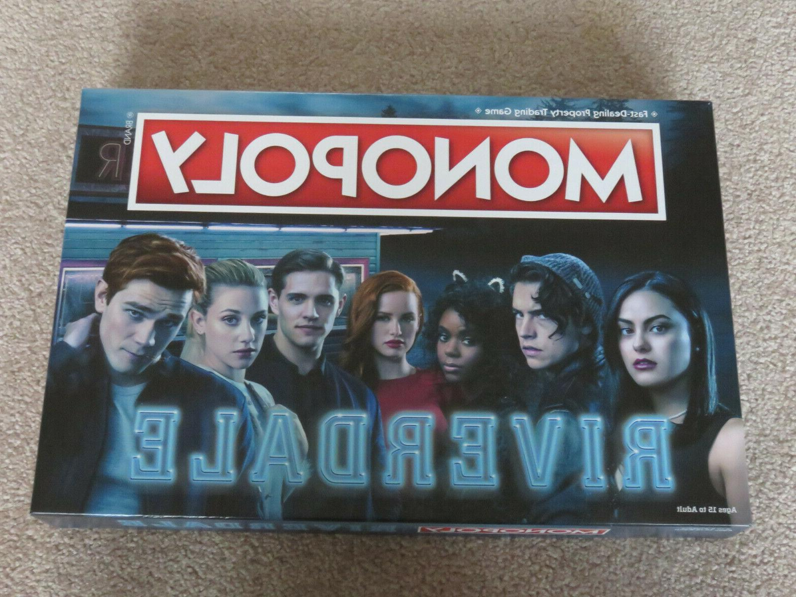 RIVERDALE CLUE BOARD GAME 2 GAMES ARCHIE & THE GANG FUN