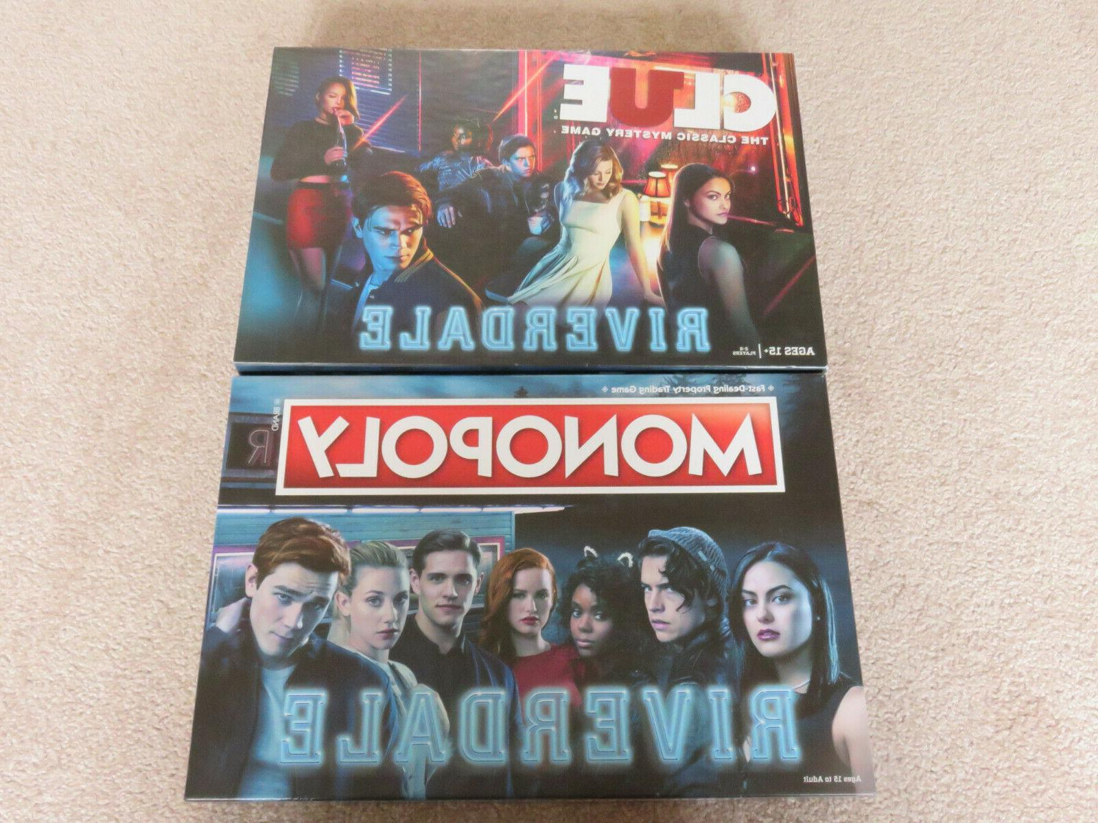 riverdale clue and board game collection 2